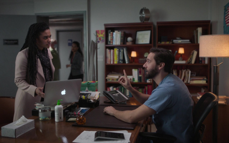 Apple MacBook Laptops Used by Freema Agyeman as Dr. Helen Sharpe in New Amsterdam S03E03 TV Show (3)
