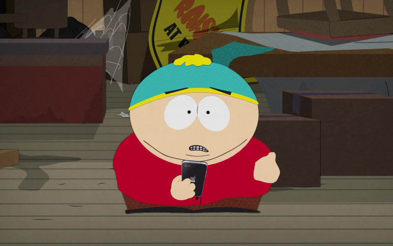 Apple iPhone Smartphone in South Park South ParQ Vaccination Special (2021)