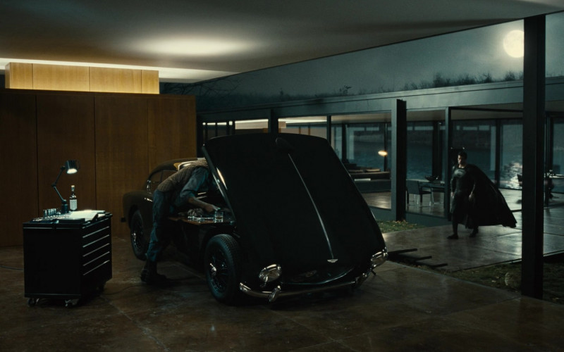 Aston Martin Car in Zack Snyder's Justice League (2021)