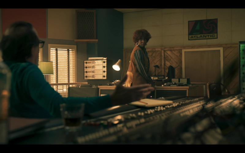 Atlantic Records Record Label Poster in Genius Aretha S03E07 (1)