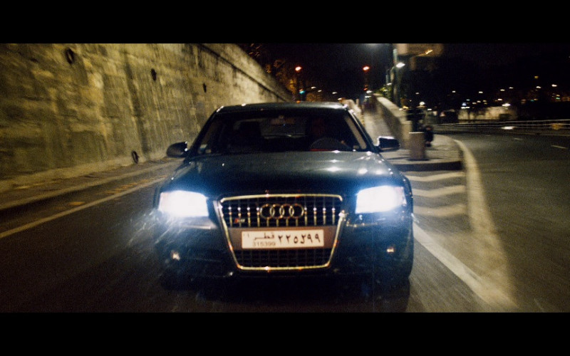 Audi S8 D3 Car in Taken 2008 Movie (1)