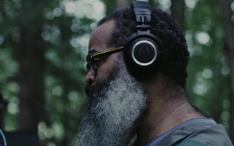 Audio-Technica Headphones of Cast Member Kyp Malone as Jamal in Doors 2021 Movie (1)