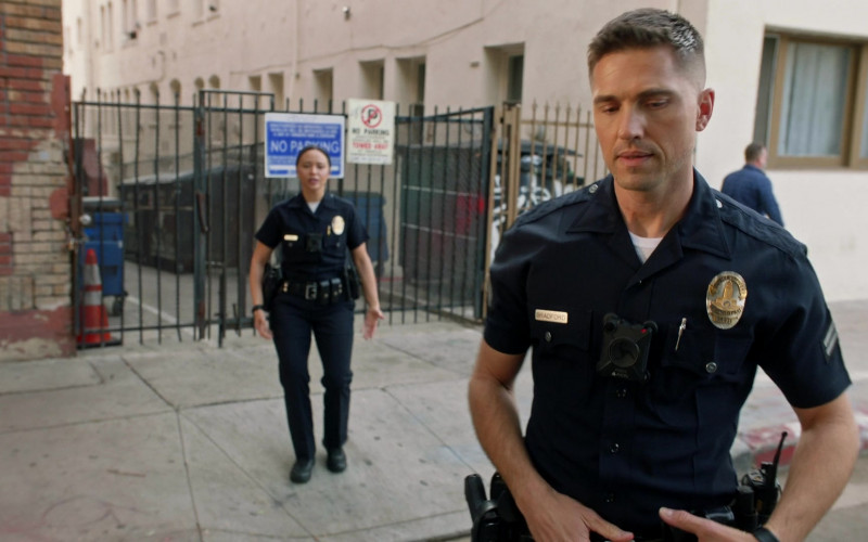 Axon Body Camera of Eric Winter as Tim Bradford in The Rookie S03E08 (1)
