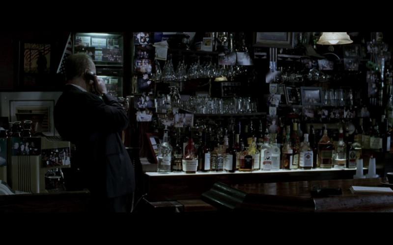 Bacardi Black, Maker's Mark whisky, Jack Daniel's, Jim Beam, Jägermeister in 16 Blocks (2006)