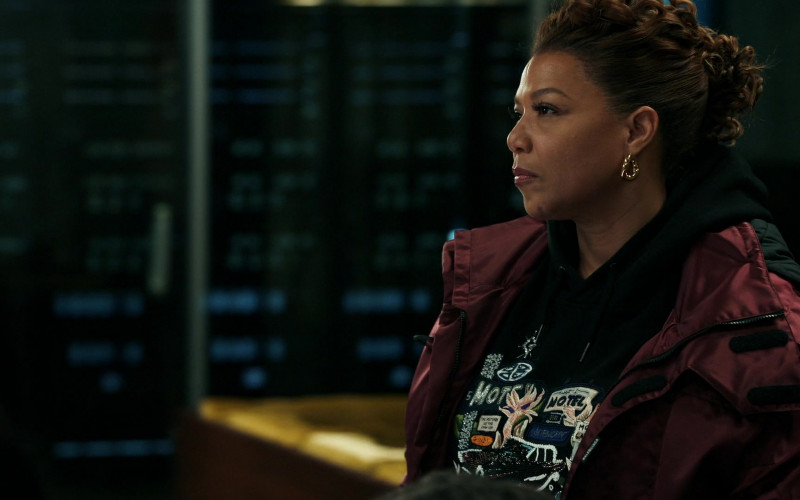 Balenciaga Women's Jacket of Queen Latifah as Robyn McCall in The Equalizer S01E05 TV Show (2)