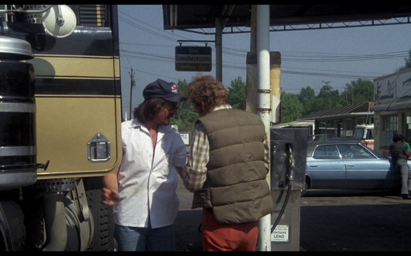 BankAmericard Sign in Smokey and the Bandit (1977)