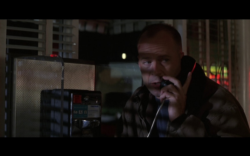 Bell Atlantic Payphone Used by Bruce Willis as Special Agent Art Jeffries in Mercury Rising (1998)
