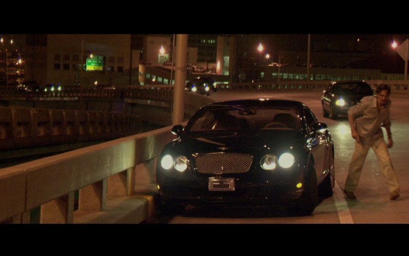 Bentley Continental GT Car in Miami Vice (2006)