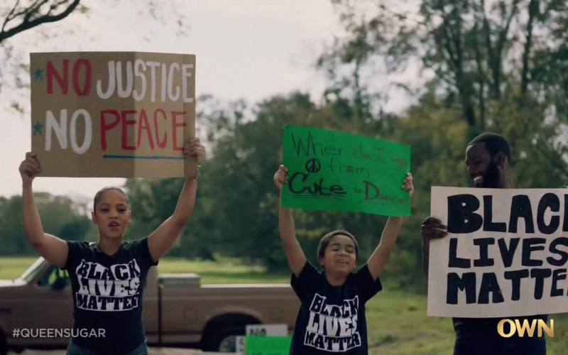 Black Lives Matter in Queen Sugar S05E07 TV Show (1)
