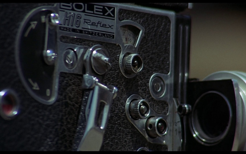Bolex H16 Reflex Camera in Vanishing Point (1971)