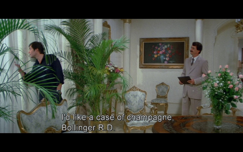 Bollinger Champagne in Licence To Kill (1989)