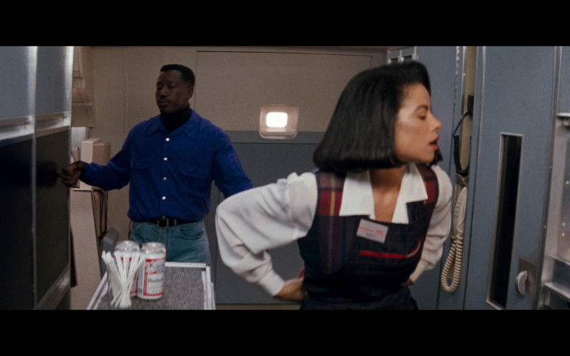Budweiser Beer Can in Passenger 57 (1992)