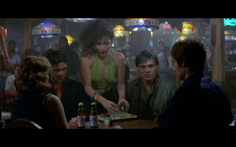 Budweiser Bottles and Busch in Licence To Kill (1989)