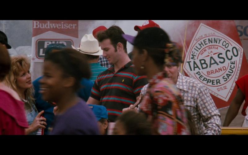 Budweiser, Polo Ralph Lauren Polo Shirt & Tabasco in Passenger 57 (1992)
