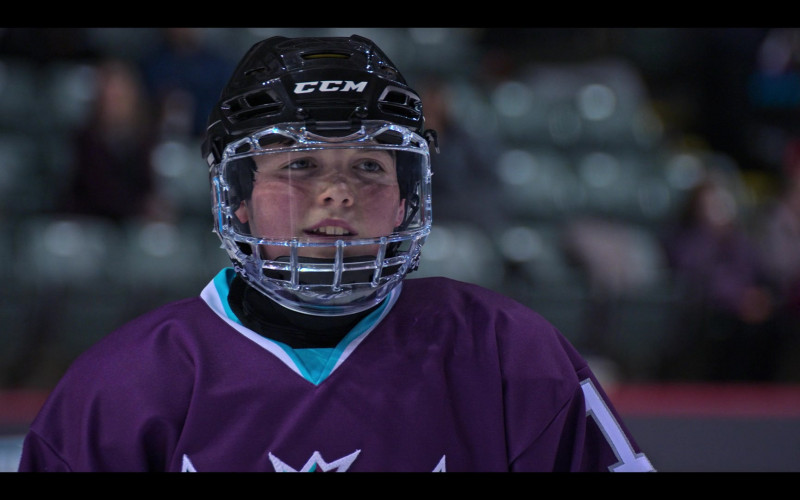 CCM Helmet of Brady Noon as Evan Morrow in The Mighty Ducks Game Changers S01E01 TV Show (2)