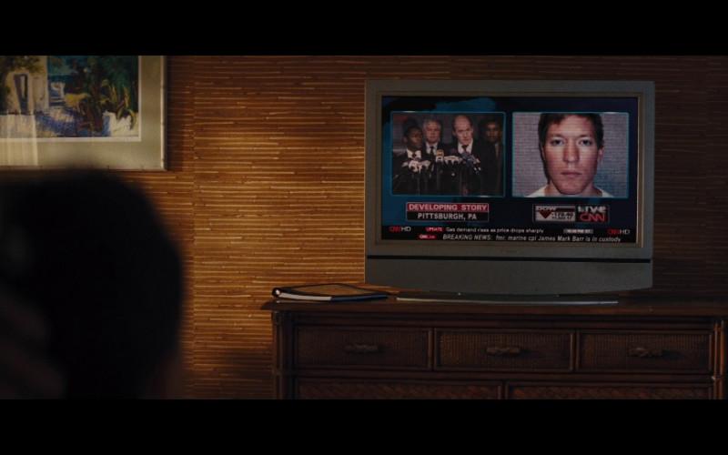 CNN TV Channel in Jack Reacher (2012)