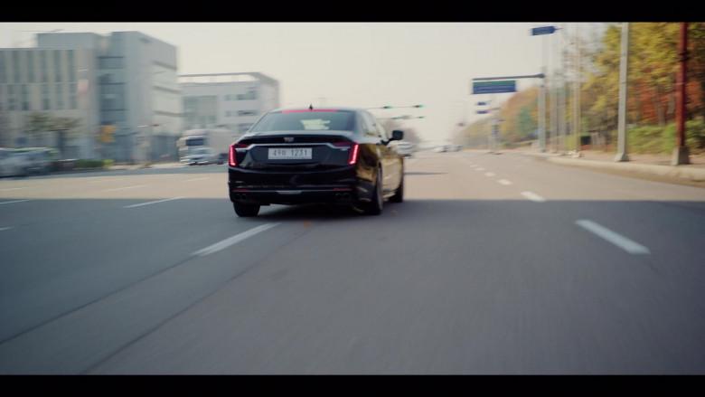 Cadillac CT6-V Black Car in Vincenzo S01E07 Korean TV Show by Netflix (1)