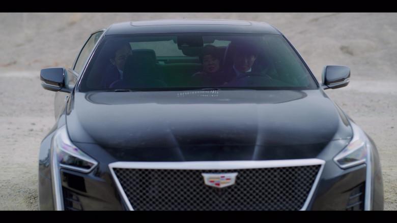 Cadillac CT6-V Black Car in Vincenzo S01E07 Korean TV Show by Netflix (4)