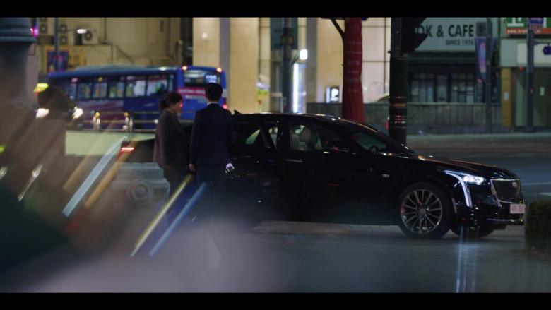 Cadillac CT6-V Black Car in Vincenzo S01E07 Korean TV Show by Netflix (5)