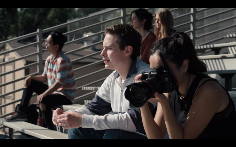 Canon Camera of Chase Sui Wonders as Riley in Generation S01E03 TV Show (1)
