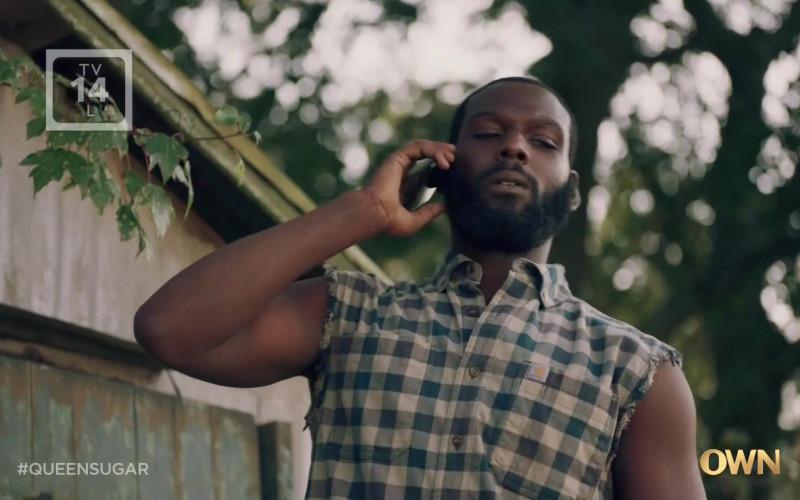 Carhartt Sleevless Shirt of Kofi Siriboe as Ralph Angel Bordelon in Queen Sugar S05E03 TV Series (1)