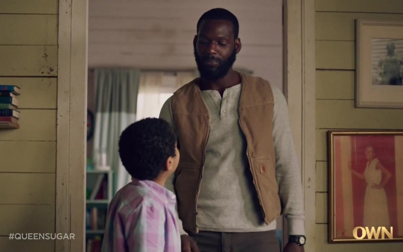 Carhartt Vest Worn by Kofi Siriboe as Ralph Angel Bordelon in Queen Sugar S05E03 TV Show (1)