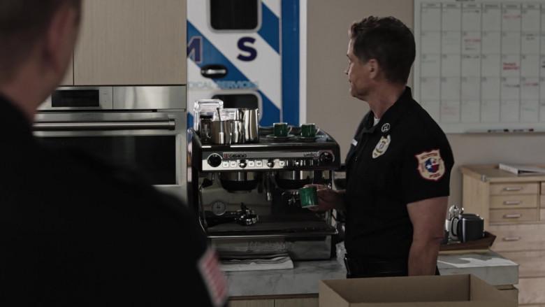 Casadio Undici Coffee Machine Used by Rob Lowe as Owen Strand in 9-1-1 Lone Star S02E07 (2)