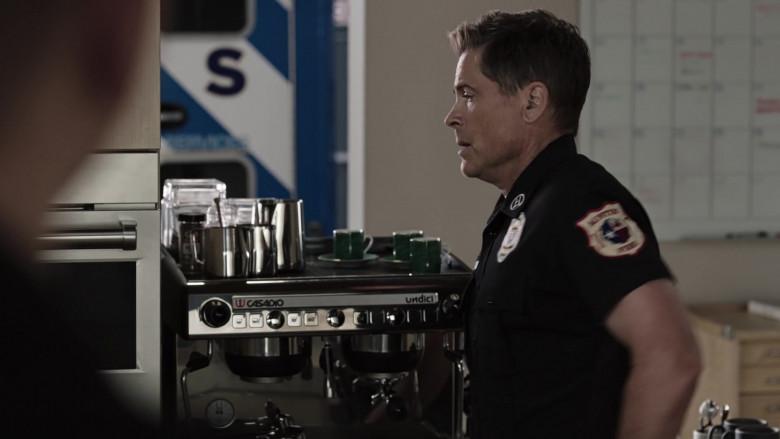 Casadio Undici Coffee Machine Used by Rob Lowe as Owen Strand in 9-1-1 Lone Star S02E07 (3)