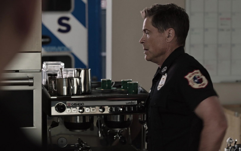 Casadio Undici Coffee Machine Used by Rob Lowe as Owen Strand in 9-1-1 Lone Star S02E07 (3)