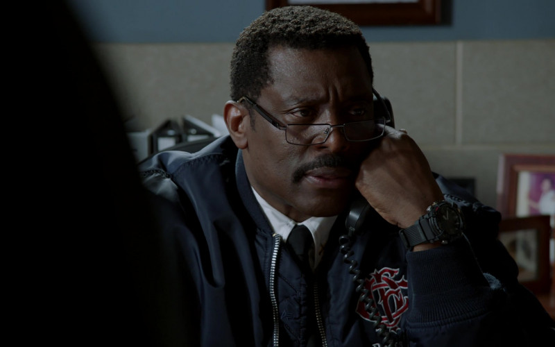 Casio G-Shock Watch of Eamonn Walker as Battalion Chief Wallace Boden in Chicago Fire S09E08 (1)