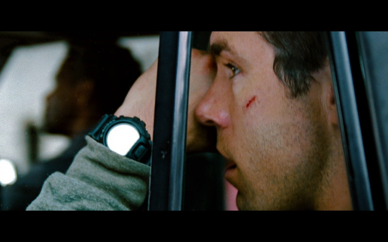 Casio G-Shock Watch of Ryan Reynolds as Matt Weston in Safe House (2012)
