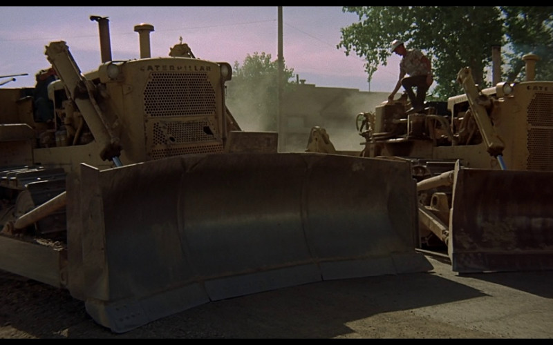 Caterpillar D8 in Vanishing Point (1971)