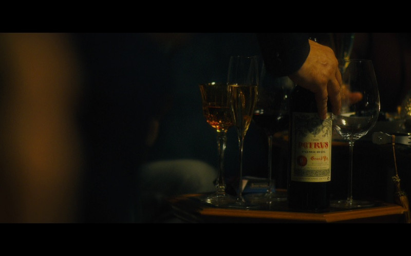 Château Pétrus red wine in Our Kind of Traitor (2016)