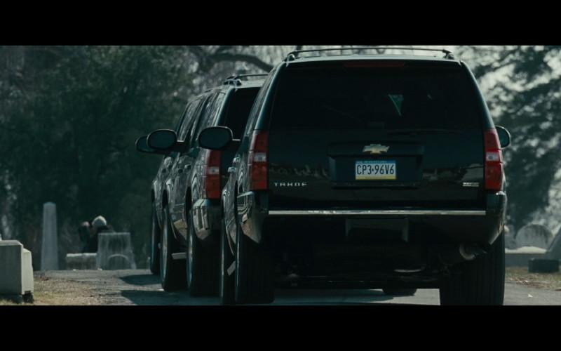 Chevrolet Tahoe SUVs in Law Abiding Citizen (2009)