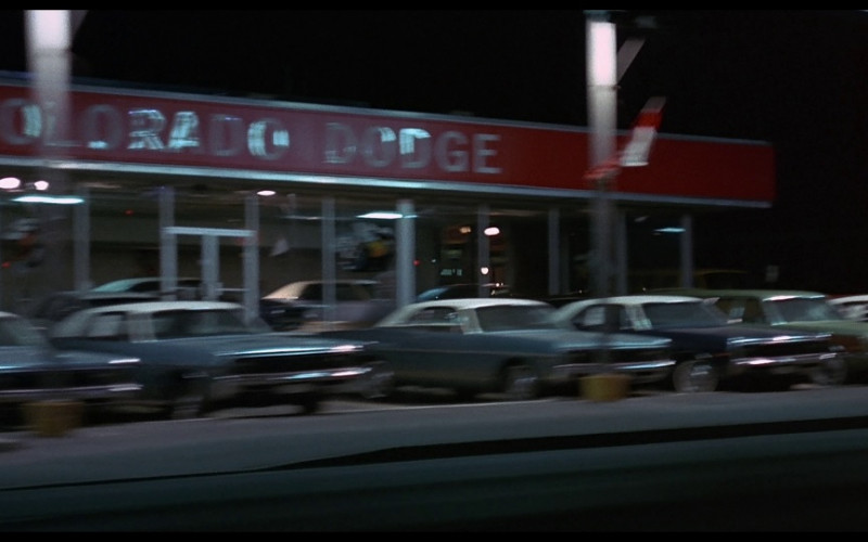 Colorado Dodge Car Dealership in Vanishing Point (1971)