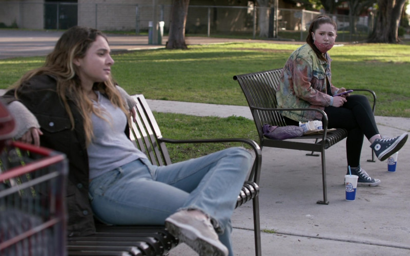 Converse HiTop Sneakers Worn by Emma Kenney as Debbie Gallagher in Shameless S11E10 DNR (2021)