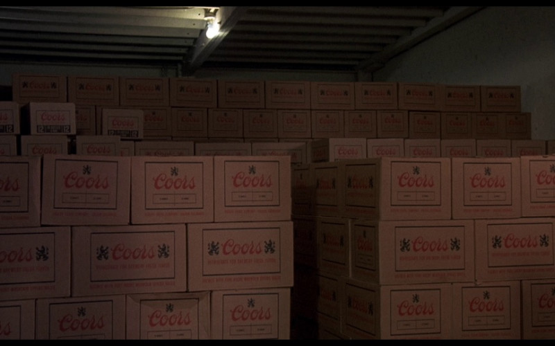 Coors Beer Boxes in Smokey and the Bandit (1977)