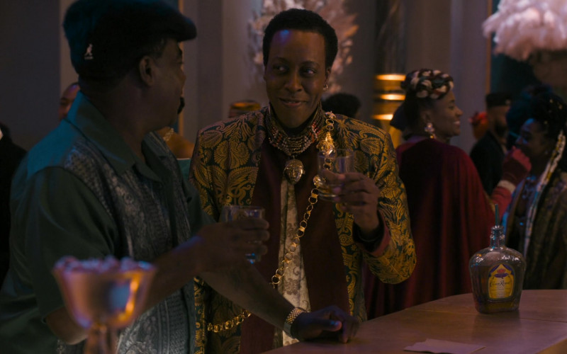 Crown Royal Whisky Enjoyed by Tracy Morgan as Reem Junson & Arsenio Hall as Semmi in Coming 2 America (2021)