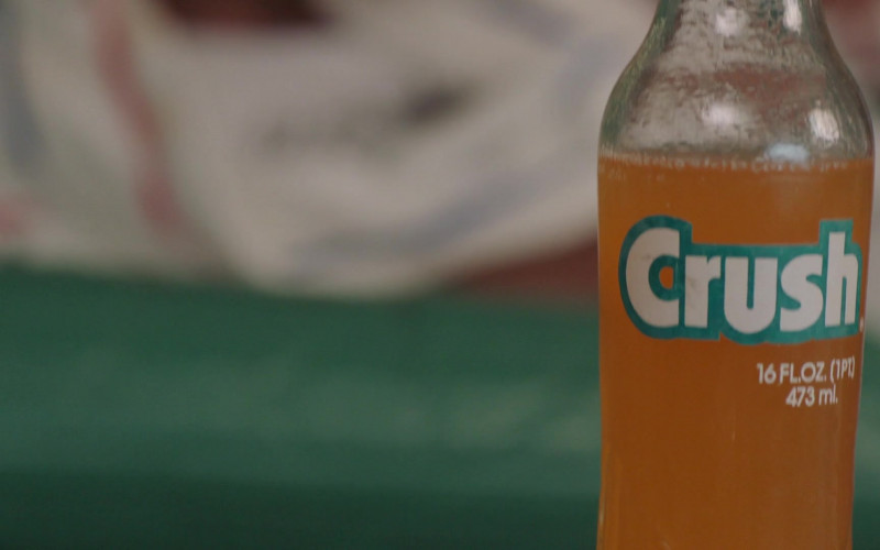 Crush Orange Soda Bottle in Young Rock S01E04 Check Your Head (2021)