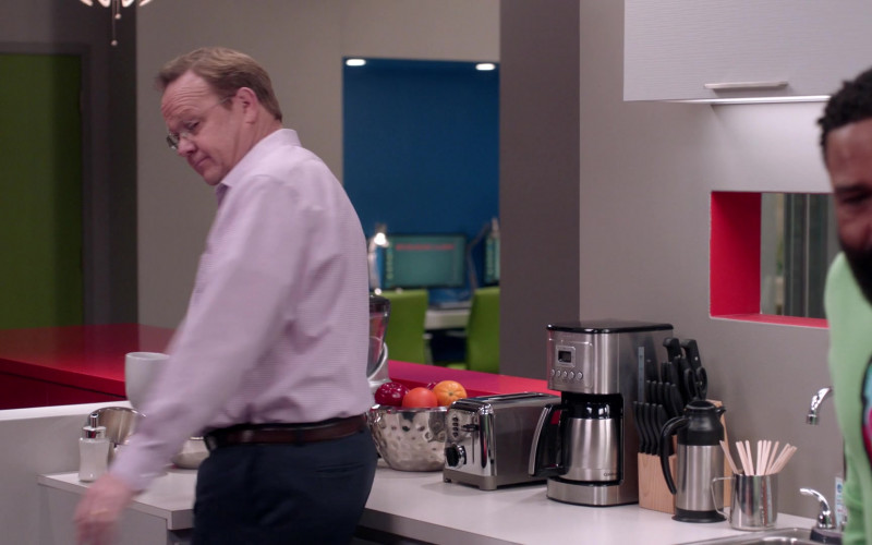 Cuisinart Coffee Machine in Black-ish S07E14 Things Done Changed (2021)