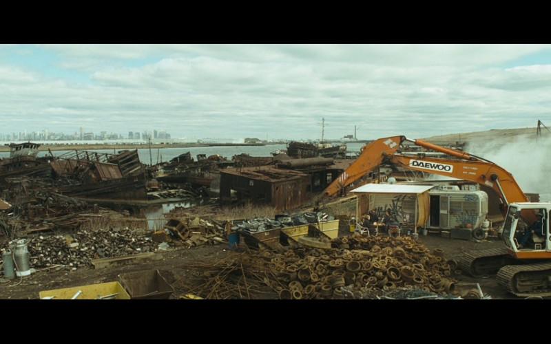Daewoo Excavator in Salt (2010)