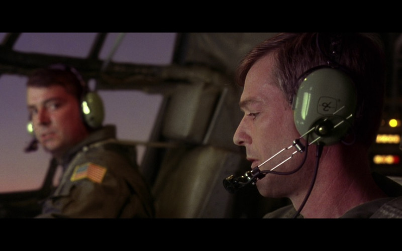 David Clark Aviation Headset in Air Force One (1997)