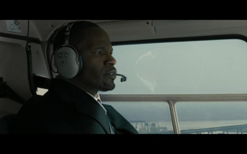 David Clark aviation headset in Law Abiding Citizen (2009)