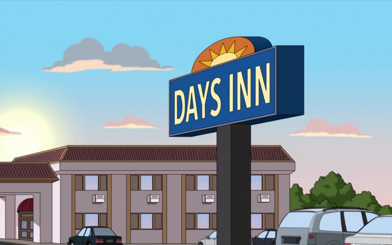 Days Inn Hotel in Family Guy S19E14 The Marrying Kind (2021)