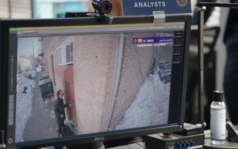 Dell Monitor in FBI S03E08 Walk the Line (2021)