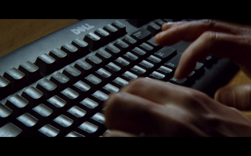 Dell PC Keyboard in Taken (2008)