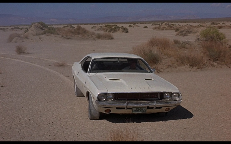 Dodge Challenger RT Car in Vanishing Point 1971 Movie