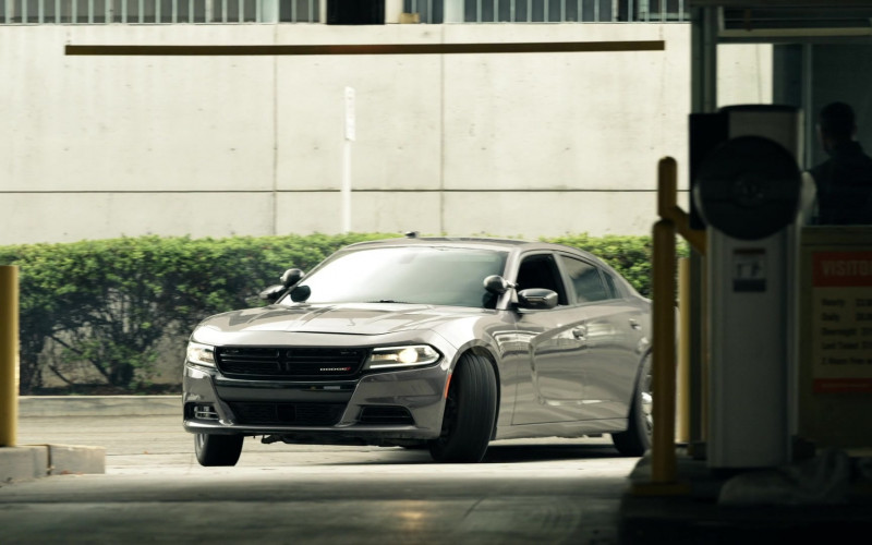 Dodge Charger Grey Car in S.W.A.T. S04E12 U-Turn (2021)