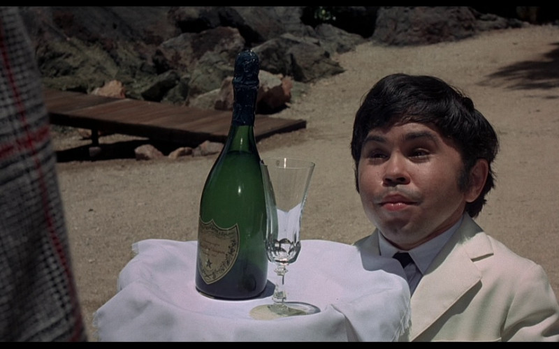 Dom Pérignon Champagne in The Man with the Golden Gun (1974)