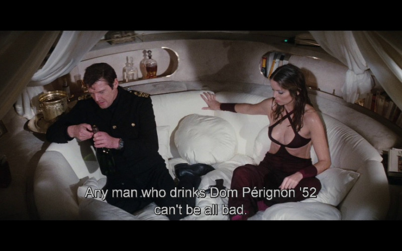 Dom Pérignon Champagne in The Spy Who Loved Me (1977)